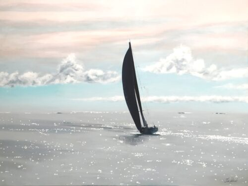 Clipper Race Warm Breeze Yacht Seascape Art Pankhurst Gallery