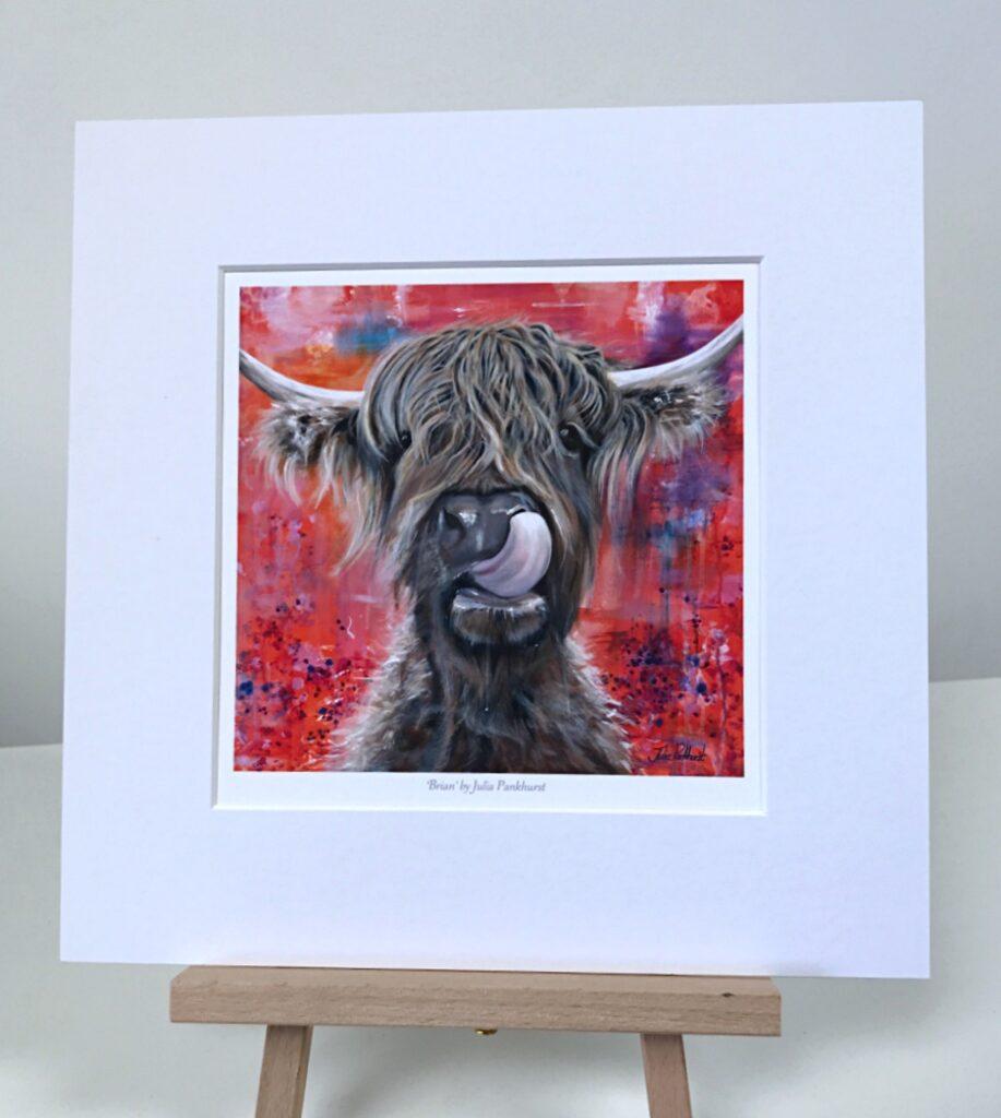 Brian Highland Cow Pankhurst Gallery