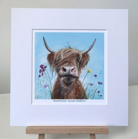 Ronald Jr Highland Cow Pankhurst Gallery
