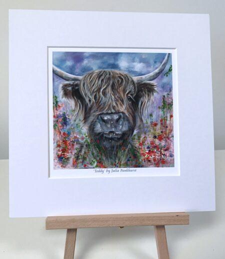 Teddy Highland Cow Pankhurst Gallery