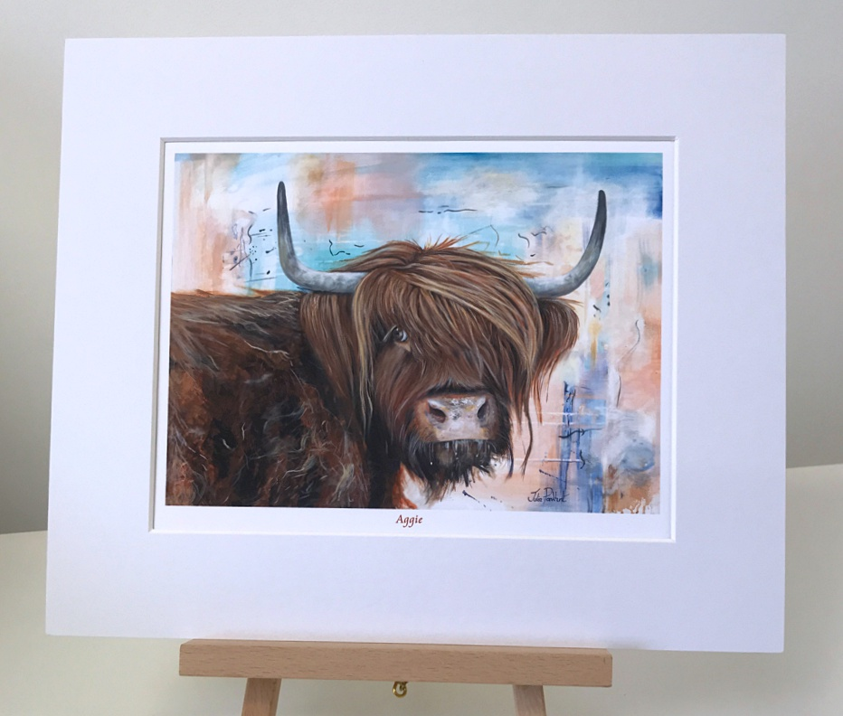 Aggie Highland Cow Pankhurst Gallery
