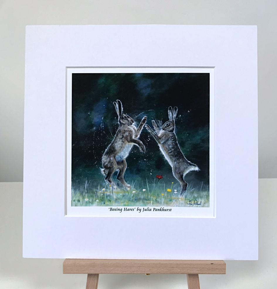Boxing Hares Pankhurst Gallery
