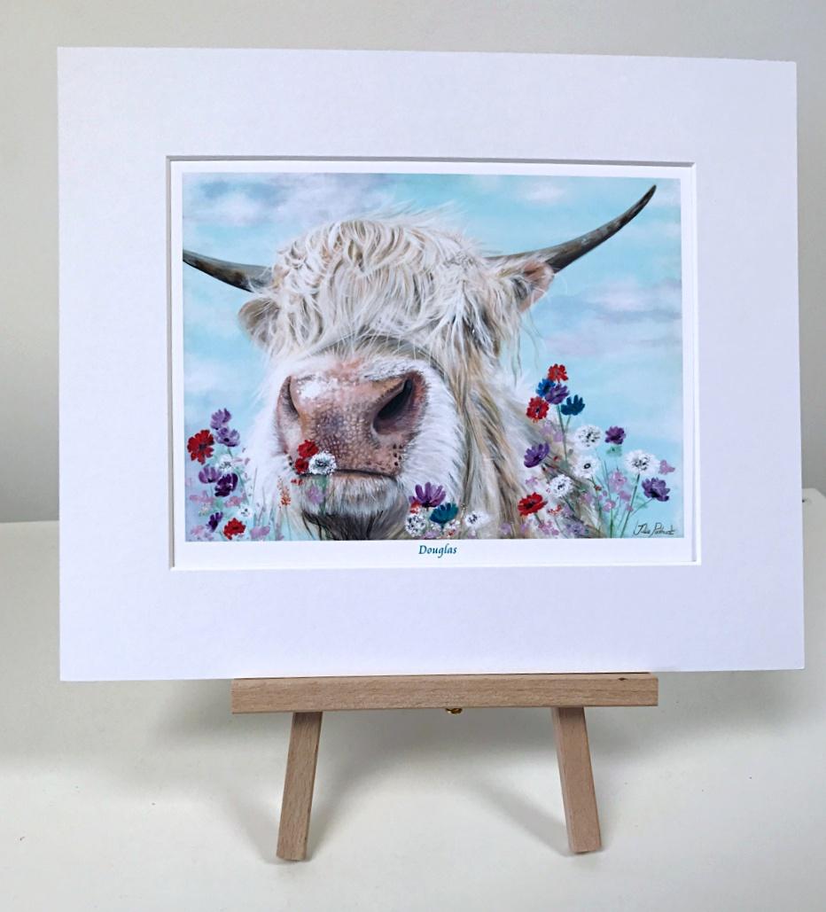 Douglas Highland Cow Pankhurst Gallery