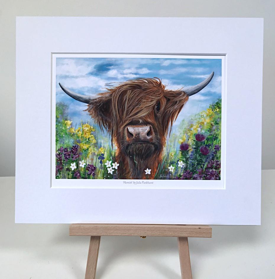 Hamish Highland Cow Pankhurst Gallery