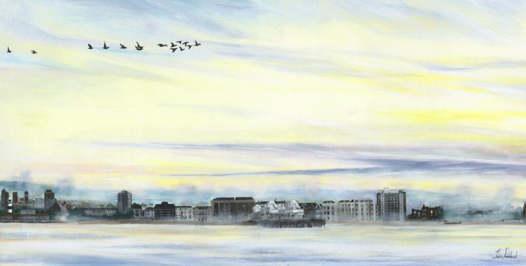 Portsmouth Skyline East Pankhurst Gallery