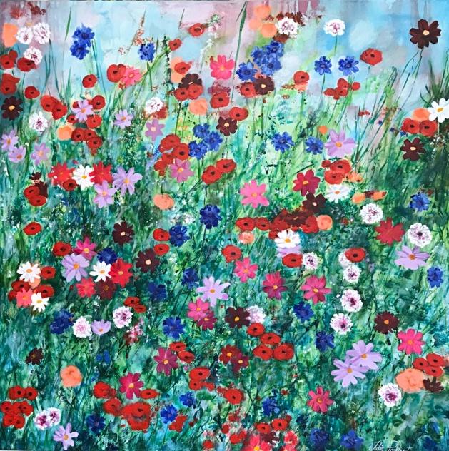 Les Fleurs Flower Art Pankhurst Gallery