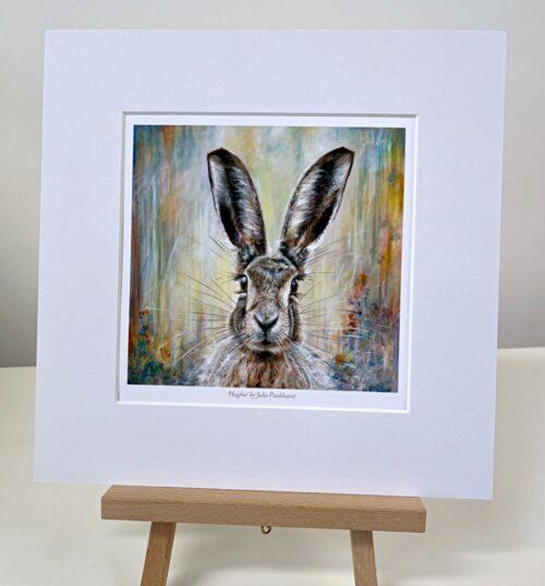 Hughie Hare Animal Art Gift Print Pankhurst Gallery
