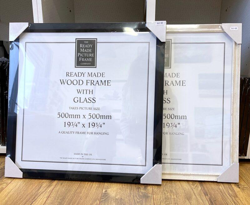 Frames for art gift prints Pankhurst Gallery 50x50cm frames