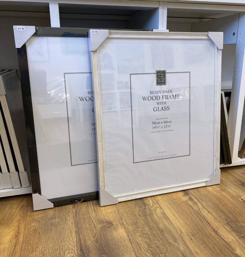 Frames for art gift prints Pankhurst Gallery 50x60cm frames