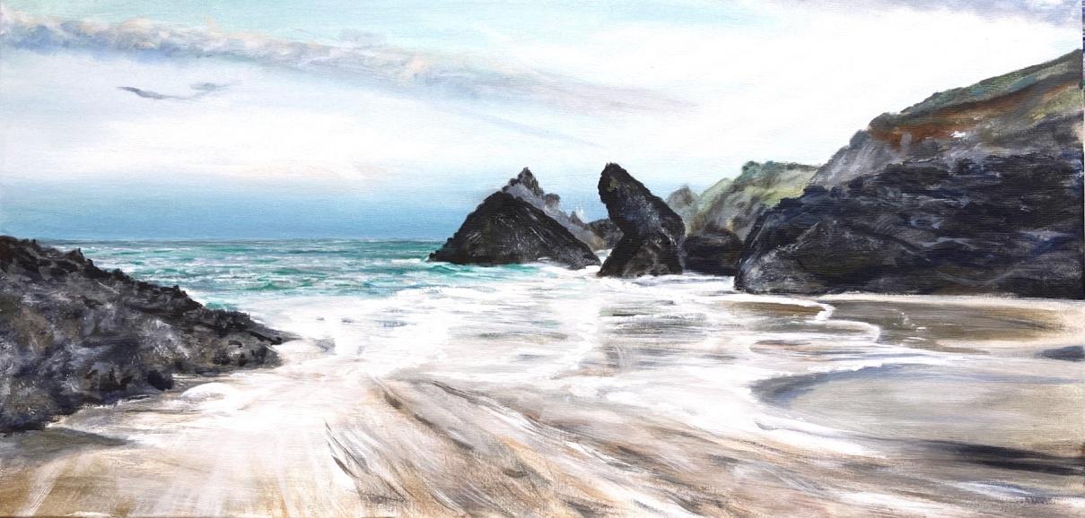 Kynance-Cove-Painting