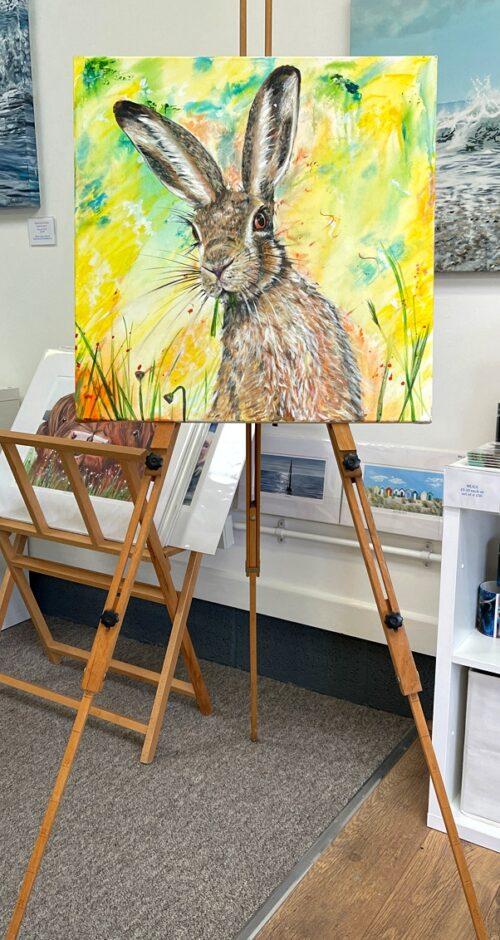 Hazel Hare original painting art Pankhurst Gallery
